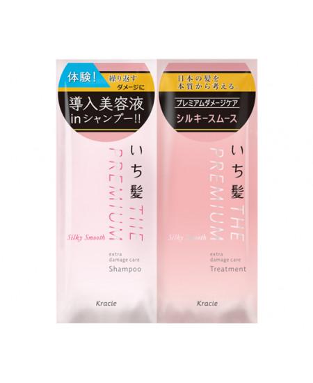 Відновлюючий шампунь 10 мл та кондиціонер 10 мл Ichikami Premium Damage Care - фотографія №1