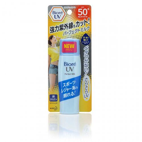 Солнцезащитное молочко с подсушивающей пудрой для лица и тела Biore UV Perfect Milk SPF50+ PA++++ 40ml