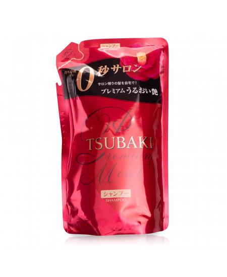 Tsubaki Premium Moist Зволожуючий шампунь (refill) 330ml - фотографія №1