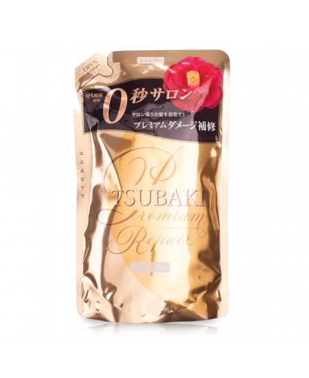 Tsubaki Premium Repair Восстанавливающий шампунь (refill) 330ml - фотография №1