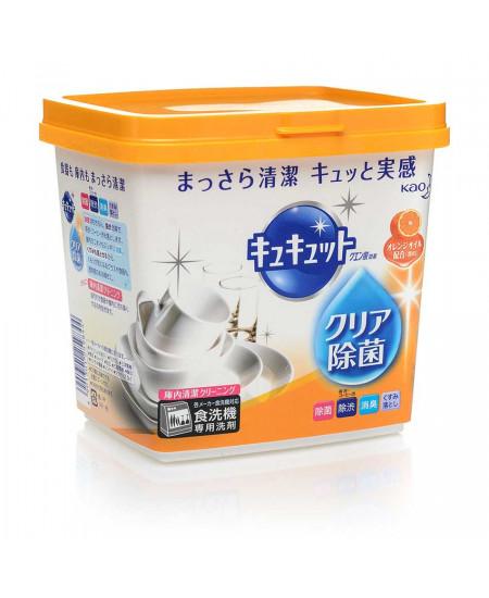 Засіб для посудомийної машини з олією апельсину KyuKyutto 680g - фотографія №1