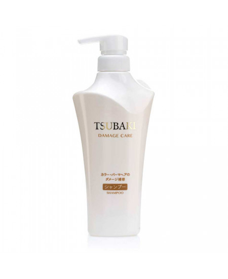 Shiseido Tsubaki Damage Care Шампунь для пошкодженого волосся 500ml - фотографія №1