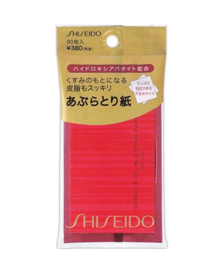 Матирующие салфетки Shiseido 90 шт - фотография №1