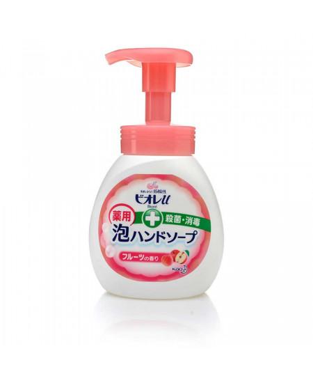 Антисептическая пенка для мытья рук с ароматом фруктов Biore 250ml - фотография №1