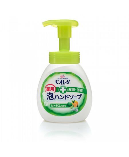 Антисептическая пенка для мытья рук с ароматом цитрусов Biore 250ml - фотография №1
