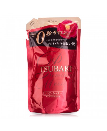 Tsubaki Premium Moist Увлажняющий кондиционер (refill) 330ml - фотография №1