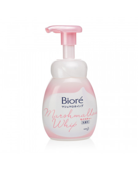 Зволожуюча пінка для вмивання обличчя Biore Marshmallow 150g - фотографія №1