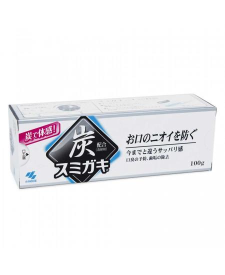 Зубная паста с древесным углем Sumigaki Kobayashi 100g - фотография №2