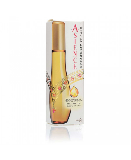 Олія для відновлення та зволоження волосся Asience Treatment Oil 100ml - фотографія №1