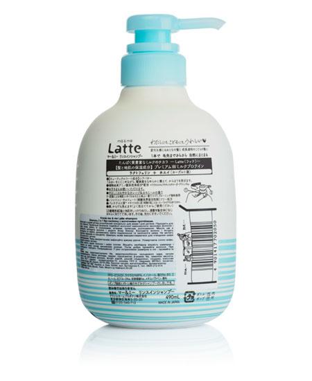Шампунь Latte без силикона с молочными протеинами 490 ml - фотография №2