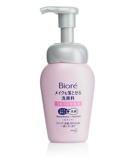 Пенка для умывания и снятия макияжа Biore Make Up Remover 160ml - фотография №1