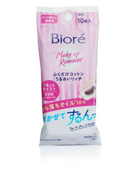Серветки для зняття макіяжу Biore 10 шт - фотографія №1