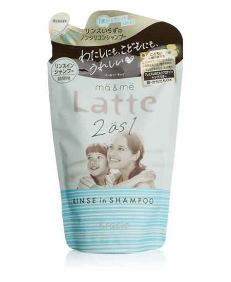 Шампунь Latte без силікону з молочними протеїнами 360 ml - фотографія №1